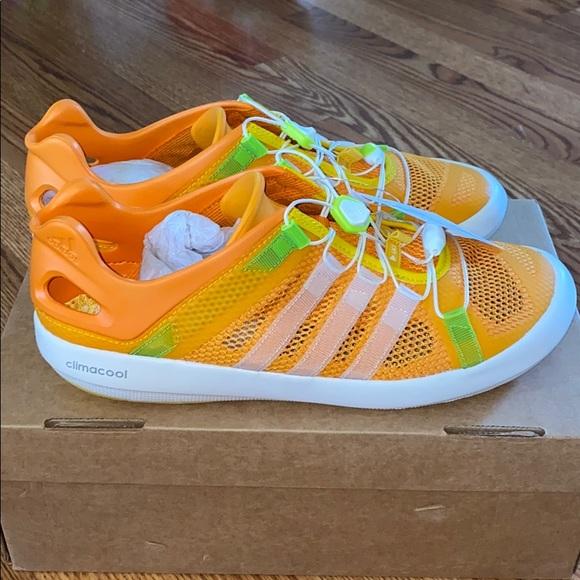 Adidas Climacool Boat Breeze Water Shoe 9.5 Orange
